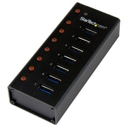 StarTech 7-Port USB 3.0 Hub, Desktop or Wall-Mountable Metal Enclosure