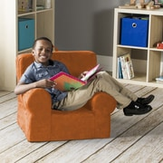 Jaxx Julep Kids Foam Chair; Mandarin