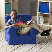 Jaxx Julep Kids Foam Chair; Blueberry