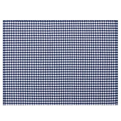 KAF Home Gingham Placemat (Set of 4); Navy WYF078277807612