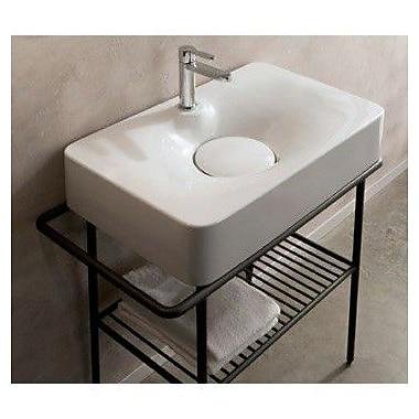 Scarabeo by Nameeks Fuji 28'' Wall Mounted Bathroom Sink