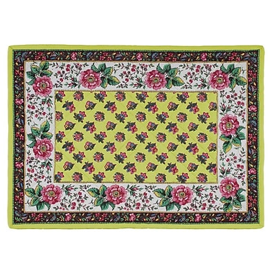 KAF Home Jardin Quilted Placemat (Set of 4) WYF078277807434