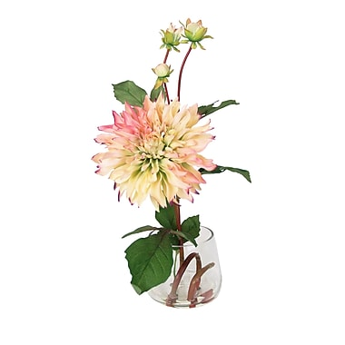 Creative Displays, Inc. Dahlia Blossom and Bud Water Floral