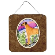 Caroline's Treasures Rhodesian Ridgeback Painting Print Plaque