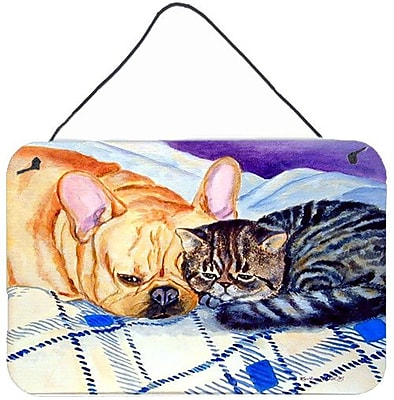 Caroline's Treasures Cat by Lyn Cook Painting Print Plaque