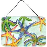 Caroline's Treasures Starfish Painting Print Plaque