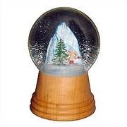 Alexander Taron Skier Snow Globe