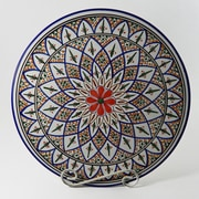 Le Souk Ceramique Tabarka Design Round Platter