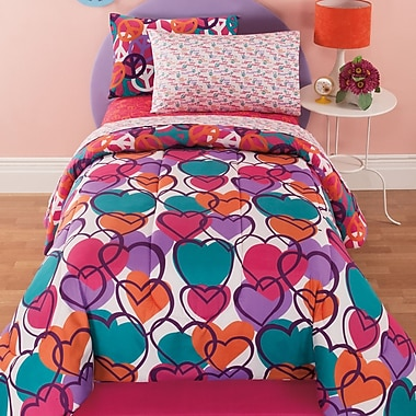 Royale Linens Leeanne Bed-In-A-Bag Set; Full