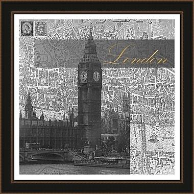 PrestigeArtStudios Eternal London Framed Graphic Art