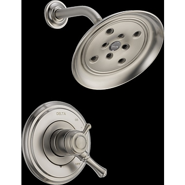 Delta Cassidy MultiChoice Shower Faucet; Brilliance Stainless