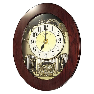 Rhythm Grand Nostalgia Entertainer Wall Clock