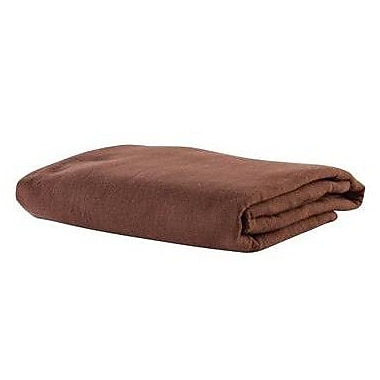 NRG Deluxe 200 Thread Count Flannel Sheet Set; Dark Chocolate