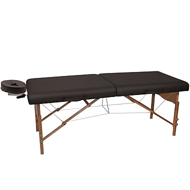 NRG Pro Portable Massage Table; Black
