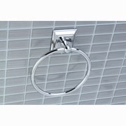 Kingston Brass Millennium Wall Mount Towel Ring; Polished Chrome