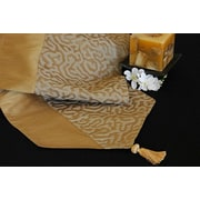 Pacific Table Linens Illusions Reversible Table Runner; 96'' W x 15'' L
