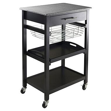 Winsome Julia Kitchen Cart w/ Granite Top