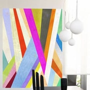 GreenBox Art Diagonal Abstract Wall Mural