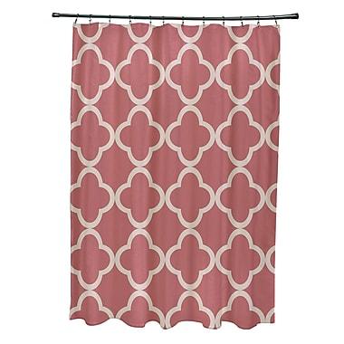 e by design Marrakech Express Geometric Print Shower Curtain; Seed