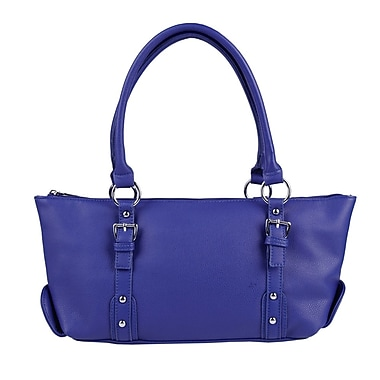 Club Rochelier Satchel with Buckle Detail, Indigo
