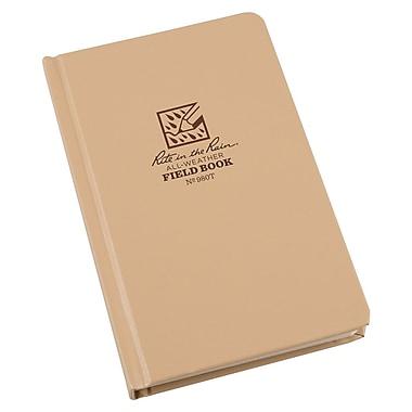 Rite in the Rain – Livre de terrain toute épreuve n° 980T, motif universel, 4 5/8 po x 7 1/4 po, couverture souple, 160 pages