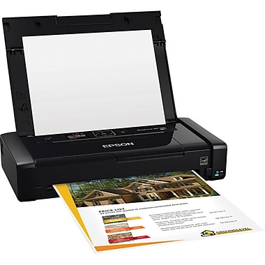 Epson® WorkForce WF-100 Portable Printer (C11CE05201)