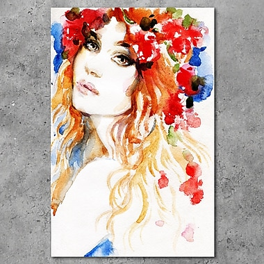 Cortesi Home ''Spring Love'' Painting Print on Canvas; 18'' H x 12'' W x 0.75'' D