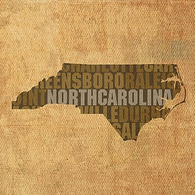 PrestigeArtStudios North Carolina Textual Art