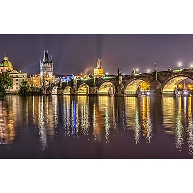 PrestigeArtStudios Charles Bridge - Prague Photographic Print