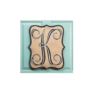 Glory Haus 1-Line Wall Address Plaque; K