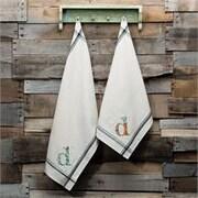 Glory Haus D Initial Tea Towel