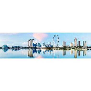 PrestigeArtStudios Singapore Panorama Photographic Print
