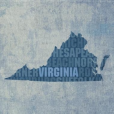 PrestigeArtStudios Virginia Textual Art