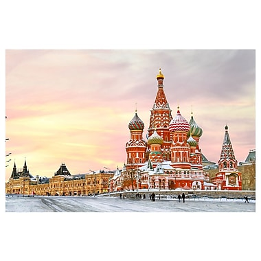 PrestigeArtStudios Saint Basil s Cathedral - Moscow Russia Photographic Print