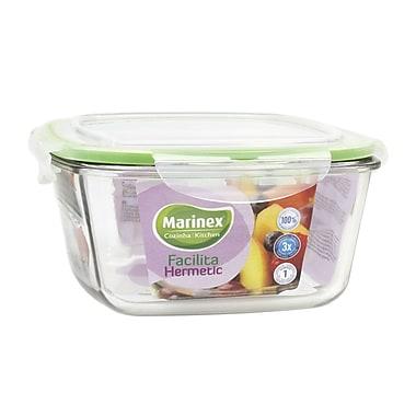 Marinex Facilita Square 64 Oz. Food Storage Container