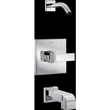 Delta Ara Tub and Shower Trim w/ Lever Handle; Chrome