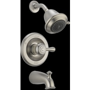 Delta Leland Monitor  Tub and Shower Faucet Trim; Brilliance Stainless