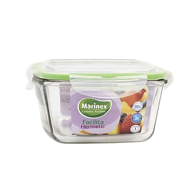 Marinex Facilita Square 32 Oz. Food Storage Container