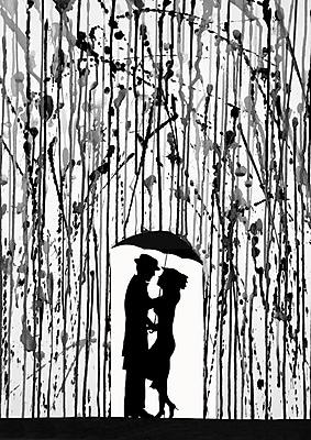 PrestigeArtStudios Film Noir Painting Print