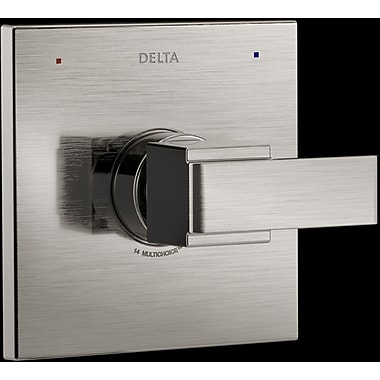Delta Ara Monitor Valve Only Trim w/ Lever Handle; Brilliance Stainless