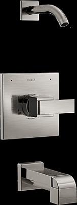 Delta Ara Tub and Shower Trim w/ Lever Handle; Brilliance Stainless