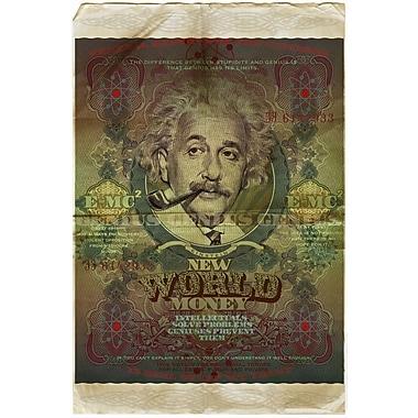 PrestigeArtStudios New World Money Einstein Graphic Art