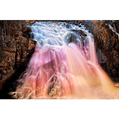 PrestigeArtStudios Vibrant Bokeh Falls Photographic Print