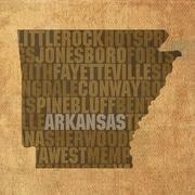 PrestigeArtStudios Arkansas Textual Art