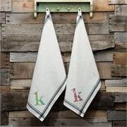 Glory Haus K Initial Tea Towel