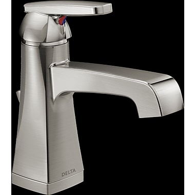 Delta Ashlyn Single hole Single Handle Bathroom Faucet w/ Drain Assembly and Diamond Seal Technology