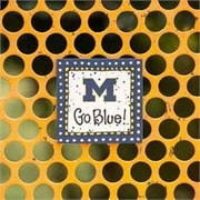 Glory Haus Michigan Go Blue! Magnet Textual Art on Canvas