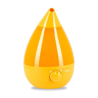 Crane Drop Ultrasonic Cool Mist Humidifier Orange