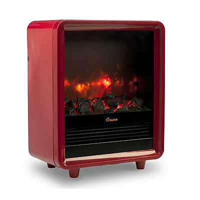 Crane Fireplace Heater Red (EE-8075R)