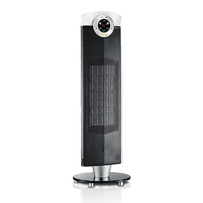 "Crane 27"" Digital Ceramic Tower Heater Black (EE-8079)"